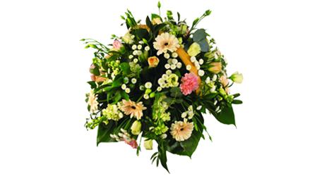Coffin Basket Arrangment
