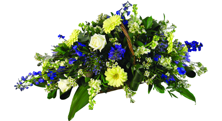 Funeral Basket Arrangment