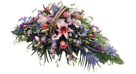 Basket Arrangment for funerals