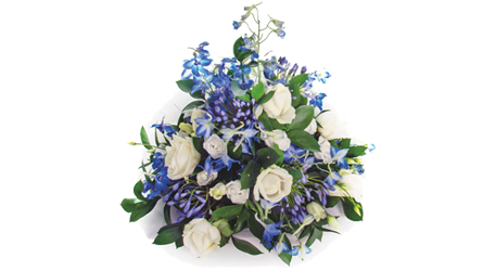Coffin Posy Arrangement